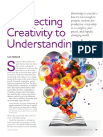 Connecting Creativity to Understanding