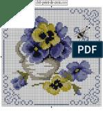 Bouquet Pansies