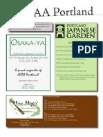 JETAA Portland Newsletter Sponsors 0905