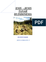 Jenis Jenis Tanah Di Indonesia