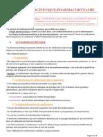 9 pharmacocinetique pharmacodynamie