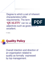 Total quality Management Basics