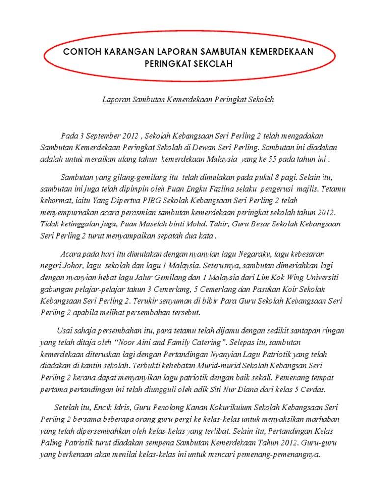 Karangan Tentang Hari Kemerdekaan Indonesia