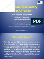 European Observatory Presentation