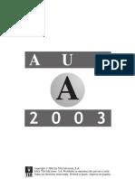 Test Psicotecnico 2003 A