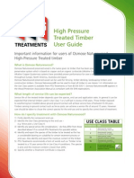 High Pressure Treated Timber User Guide