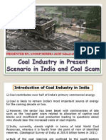 Coal Industry in Present Scenario in India (Coal Scam) (1)