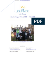 Journey Into Kenya, Interim Report 02 09