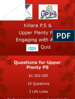 Asia Skype Quiz for UPPS