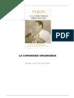 Peron Juan D. - La Comunidad Organizada-Doc