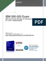 000-020 Exam
