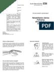 Fracture Colles Rehabilitation Advice Following Wrist-