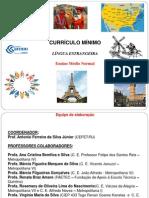 Currículo Mínimo - 2012