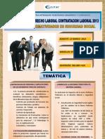 Seminario en Derecho Laboral 2013 13 Marzo