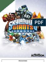 Skylanders Giants Online Manuals Ps3 Online Manual SP v1