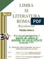 Oral Bac Romana