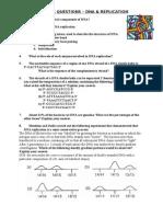 12 - DNA & Replication Questions