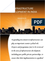 infrastructure development in india