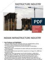 indian infrastructure industry ppt