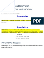 Matematicas- Propiedades de La Multiplicacion y Ejercitacion