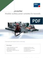 SMA SMARTconverter Monorails en Version 07 2012