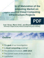 The Effects of Maturation of the Cloud Computing Market on Open Source Cloud Computing Infrastructure Projects