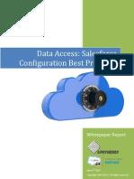 Data Access Salesforce Configuration Best Practices