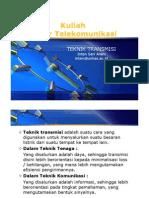Kuliah 14 & 15 Teknik Transmisi