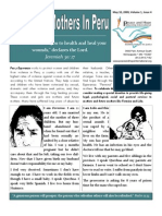 Peace and Hope Newsletter May 2009 - Mother's Day Edition