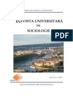 Revista Universitara Sociologie Nr2 2009