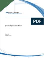pPlus Logical Data Model