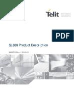 Telit SL869 Product Description r4
