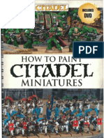 How to Paint Citadel Miniatures (2012)