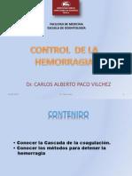 Control de La Hemorragia-Dr Paco