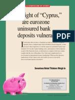 TIE Sp13 EurozoneDepositsSymp