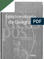 PERCEPÇÃO, COGNIÇÃO E REPRESENTAÇÃO EM GEOGRAFIA