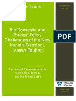 Domestic and Foreign Policy Challenges of Iran's President Hassan Rouhani