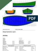 Barca tip lotca - planuri