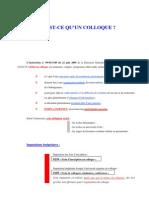 5 - Les Colloques