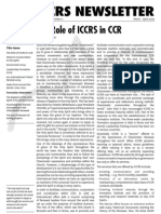 ICCRS Newsletter for March-April 2009