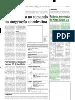 2004.02.01 - Acidentes Em Estradas de Minas Matam Sete - Estado de Minas