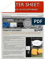Startersheet - Formative Assess With Voicethread
