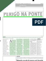 2004.02.29 - Perigo Na Ponte - Estado de Minas