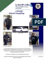 Can You Identify_Walmart TV Shoplifting_PUBLIC_6 26 13