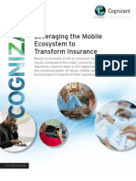 Leveraging the Mobile Ecosystem to Transform Insurance