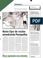 2004.10.12 - Risco Agravado Nas Estradas - Estado de Minas
