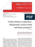 Nordic Defense Cooperation