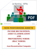 NPA & Income Recognition Ppt