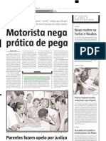 2004.10.27 - Uma Vítima fatal e três feridos em acidente no ktrevo de Caeté, da BR-381 - Estado de Minas