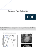 Proceso Floc-flotación